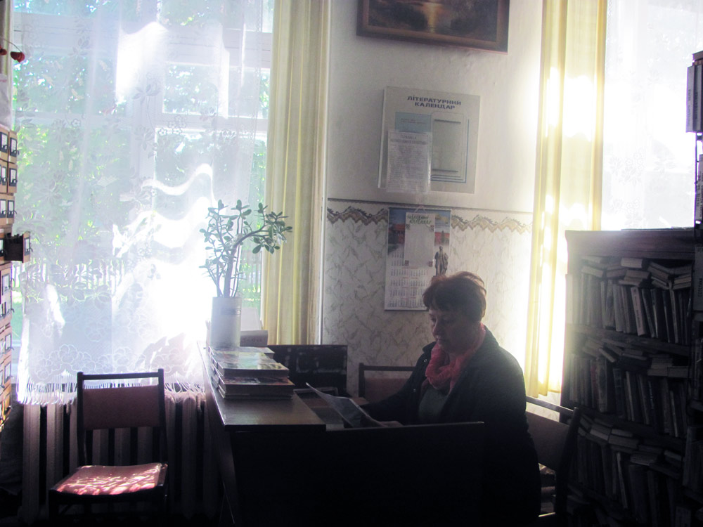 Завідуюча бібліотекою Маринець В.М.